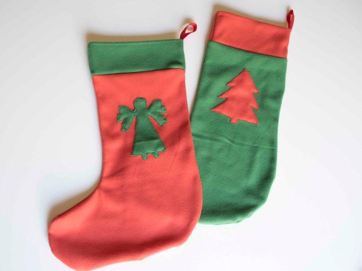 De twee stockings van vorig jaar