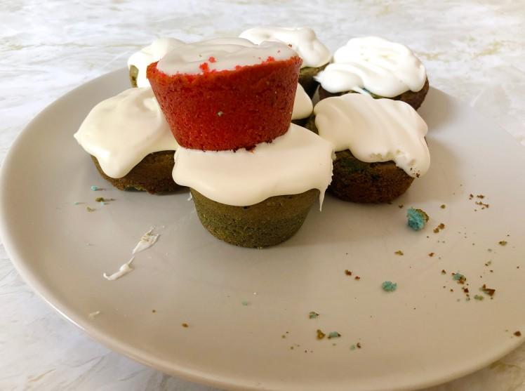 Mislukte cupcakes