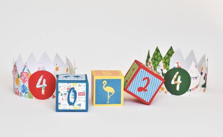 Maak je eigen kleurrijke blokken om af te tellen naar een speciale gebeurtenis. Met afbeeldingen om meteen te gebruiken. http://deoranjekamer.me