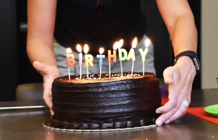 Verjaardagstaart http://deoranjekamer.me
