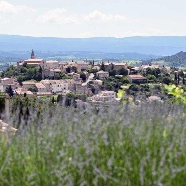 Een huis met zicht op Crillon