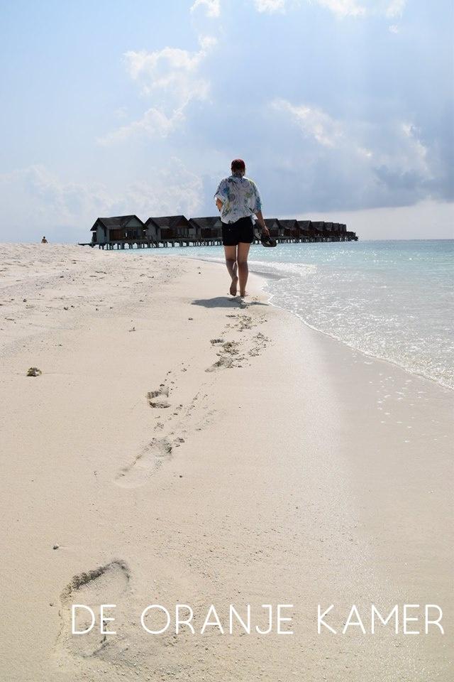 Zon, zee, strand, snorkelen, lezen en zalig niks doen in Furaveri, Maledives