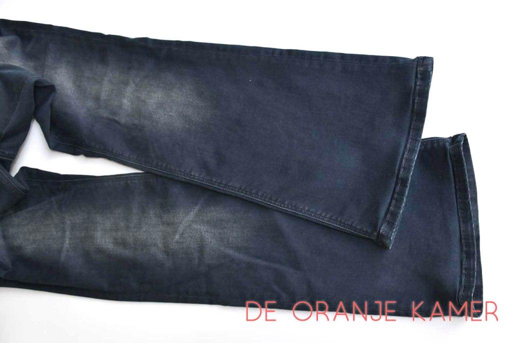 Klaar om aan te trekken - niemand die ziet dat je deze broek korter hebt gemaakt.