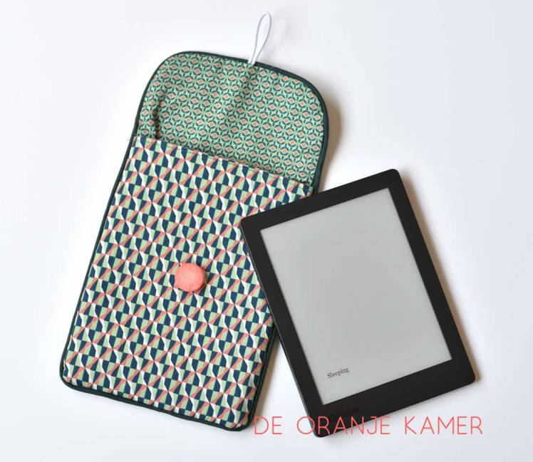 Zakje voor e-reader of tablet - De Oranje Kamer